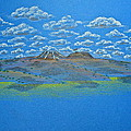 Clouds Over Lassen by Michele Myers