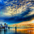 Clouds Over Louisville by Darren Fisher
