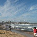 Clouds Over Manly Beach by Leanne Seymour