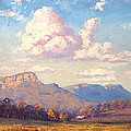 Clouds Over Megalong by Graham Gercken