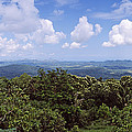 Clouds Over Mountains, Flores Island by Panoramic Images