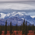 Clouds Over Mountains by Jeff Folger