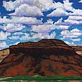 Clouds Over Red Mesa by Joe  Triano