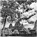Clouds Over Temple In Siem Reap In Cambodia by River Engel