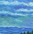 Clouds Over The Blue Ridge by Kendall Kessler