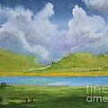 Clouds Over The Lake by Alicia Maury