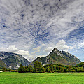 Clouds Over The Mountains by Ivan Slosar