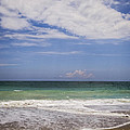 Clouds Over The Ocean by Zina Stromberg
