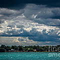 Clouds Over The River by Grace Grogan