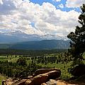 Clouds Over The Rockies by Christiane Schulze Art And Photography