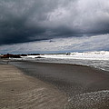 Cloudy Beach Day by Marc Levine