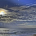 Cloudy Day At The Beach by Alice Gipson