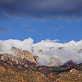Cloudy Sandia Peaks 8510 by Brian King