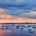 Cloudy Sunrise by Jeff Folger