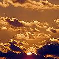 Key West Cloudy Sunset by Bob Slitzan