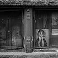 Clown In The Window by Steven Kreiter