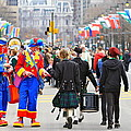 Clowns And Tartans by Alice Gipson
