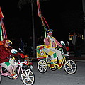 Clowns On Bikes by Robert Floyd