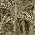 Cluny Museum Ceiling Detail by Michael Kirk