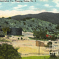 Coalinga Oil And Transportion Co. Pumping Station No. 2 Circa 1910 by California Views Archives Mr Pat Hathaway Archives