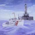 Coast Guard 40300 by Jerry McElroy