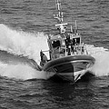 Coast Guard In Black And White by Rob Hans