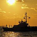 Coast Guard In Paradise - Key West by Bob Slitzan