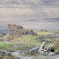 Coast Scene With Children In The Foreground, 19th Century by William Collins