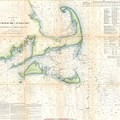 Coast Survey Map Of Cape Cod Nantucket And Marthas Vineyard by Paul Fearn