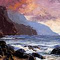 Coastal Cliffs Beckoning by Mary Giacomini