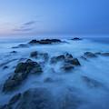 Coastal Landscape At Trollskjeran by Cody Duncan