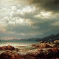 Coastal Landscape by Lars Hertervig