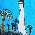 Coastal Lighthouse by Artists With Autism Inc