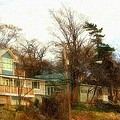 Coastal Living On The Dunes Of The Big Lake by Rosemarie E Seppala