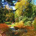 Coastal Maine Garden by Gene Cyr