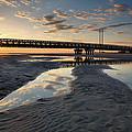 Coastal Ponds And Bridge II by Steven Ainsworth