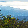Coastal Range And Clouds From West Point Inn On Mount Tamalpias-california by Ruth Hager