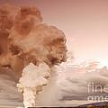 Coastal Steam Plume At Kilauea Volcano by Stephen & Donna O'Meara