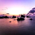 Coastal Sunrise by Jijo George