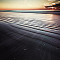 Coastal Sunrise Seascape Contemporary Relaxing Wall Art On Canvas Prints by Gray  Artus