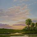 Coastal Sunset by Audrey McLeod