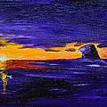 Coastal Sunset by Donna Blackhall