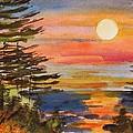 Coastal Sunset by John Williams