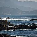 Coastal View - Big Sur II by Suzanne Gaff