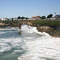 Coastline  Santa Cruz -  California by Christiane Schulze Art And Photography