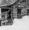 Slayton Pasture Cobber Cabin Trapp Family Lodge Stowe Vermont by Edward Fielding