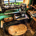 Cobblers Sewing Machine by David Morefield