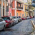 Cobblestone Streets Of San Juan Puerto Rico by Bryan Mullennix