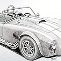 Ac Ford Cobra With 427  by Rick Bennett