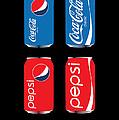 Coca Cola And Pepsi by Herman Cerrato